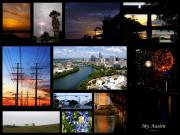 Mosaic Photos - My Austin by James Granberry