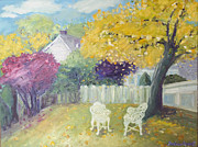 Barbara Anna Knauf - My backyard in fall