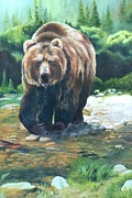 Lori Brackett - My Bear of a Painting