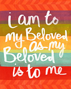 Beloved Prints - My Beloved Print by Linda Woods