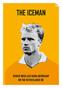 Nickname Prints - My Bergkamp soccer legend poster Print by Chungkong Art