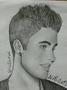Justin Bieber Drawings Originals - My Best Friend by Nustin World