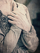 Hands Metal Prints - My Broken Heart - Victorian Romance Metal Print by Edward Fielding