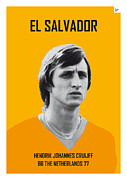 Nickname Prints - My CRUIJFF soccer legend poster Print by Chungkong Art