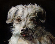 Diane Kraudelt Art - My Dog Charlie by Diane Kraudelt