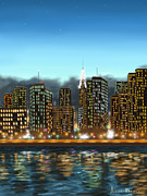 Manhattan Digital Art - My dream by Veronica Minozzi