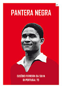 Nickname Prints - My Eusebio soccer legend poster Print by Chungkong Art