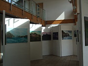 My Exhibition Of 30 Oil Paintings At Chasewater Print by Jean Walker
