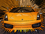 Ice-t Digital Art - My Favorite Car by Piero Lucia
