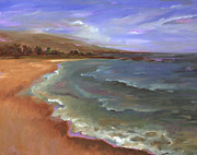 Mauna Kea Painting Prints - My Favorite Time of Day at Mauna Kea Print by Lisa Bunge