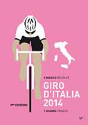 My Giro D Italia Minimal Poster 2014 Print by Chungkong Art