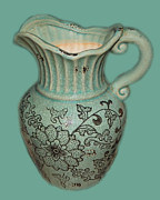 Kitchen Art Photographs Prints - My Green Jug Print by Kate Farrant