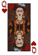 Madalena Lobao-Tello - Frida Queen of Hearts II