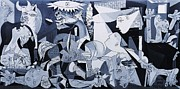 Wwi Painting Metal Prints - My Guernica Metal Print by Susana Varela Guillot