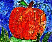 My Halloween Pumpkin Print by JAGER  age 11
