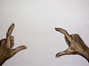 Hands Art - My Hands by Leah Saulnier The Painting Maniac