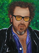 Living Artist Paintings - My Julian Schnabel by Aimee Vance