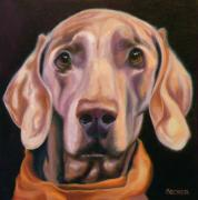 Dog Print Prints - My Kerchief Print by Susan A Becker
