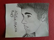 Justin Bieber Drawings Originals - My Kidrauhl  by Nustin World