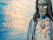 Light Of The World Paintings - My Light by Amanda Dinan