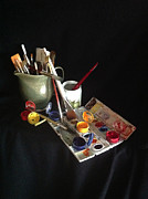 Still Life Photographs Posters - My Limited Palette Poster by Nan Wright