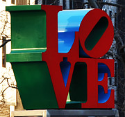 Love Park Framed Prints - My Love  Framed Print by Bill Cannon
