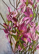 Office Space Painting Originals - My Magnolias Bliss by Sherry Harradence