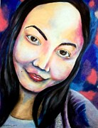 My Michelle Print by Michael Alvarez