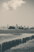 City Skylines Prints - My Mind Knows No Quiet Print by Laurie Search