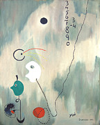 Image Painting Originals - My Miro by Jerome Stumphauzer