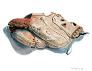 Baseball Glove Originals - My Mitt by Mike McCarthy