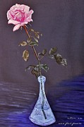 My Mothers Rose Print by Nina Ficur Feenan