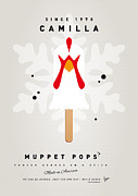 Books Digital Art Acrylic Prints - My MUPPET ICE POP - Camilla Acrylic Print by Chungkong Art