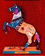 Anne-Elizabeth Whiteway - My New Painted Pony Navajo Sand Painting