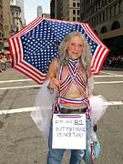 My Parade Is Not Thru Print by Ed Weidman