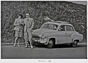 My Parents Were Awesome .  Days Gone By Good Goin.1963. Photographer Andrzej Goszcz. Print by  Andrzej Goszcz