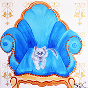 Furry Digital Art Originals - My Persian My Love by Sarah Tiffany King