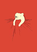 Sleeping Animal Framed Prints - My pet Framed Print by Budi Satria Kwan