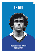 Nickname Prints - My Platini soccer legend poster Print by Chungkong Art
