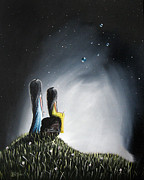 Top Seller Paintings - My Precious by Shawna Erback by Shawna Erback