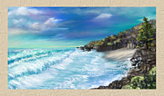 Susan Kinney Art - My Private Ocean by Susan Kinney