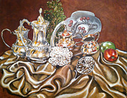 Annette Jimerson - My Silver Tea Set