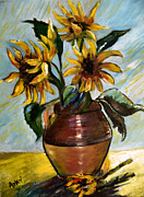 Arlen Avernian Thorensen - My Sunflowers