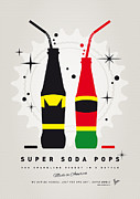 Super Hero Mixed Media - My SUPER SODA POPS No-01 by Chungkong Art
