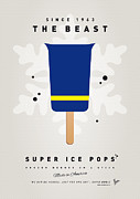 Super Hero Metal Prints - My SUPERHERO ICE POP - The Beast Metal Print by Chungkong Art