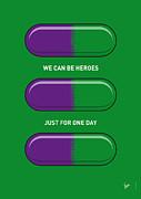 My Superhero Pills - The Hulk Print by Chungkong Art