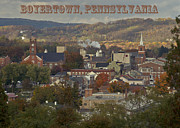 Berks County Prints - My Town Print by Trish Tritz