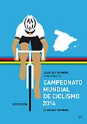 My Uci Road World Championships Minimal Poster 2014 Print by Chungkong Art