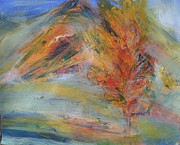 Autumn Landscape Mixed Media - My View by Becky Chappell