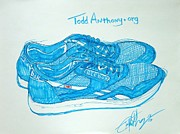 Todd Anthony - My vintage 80s blue...